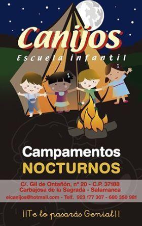 Campamento nocturnos en la Guardería Canijos