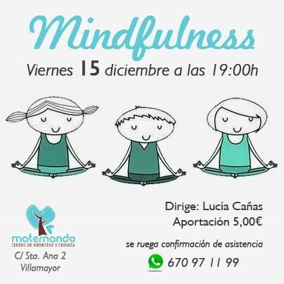 Sesión de meditación infantil en Maternando