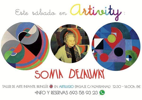 Sonia Delaunay en el Artivity, taller infantil de arte en inglés en Salamanca