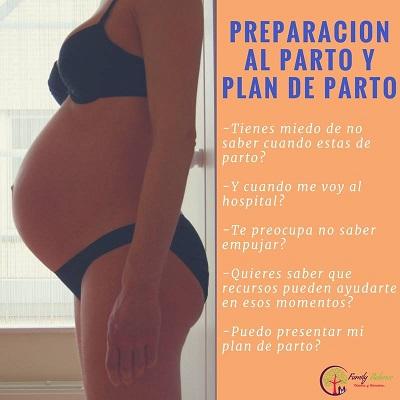 Taller en Family Balance sobre preparación al parto y la elaboración del plan de parto