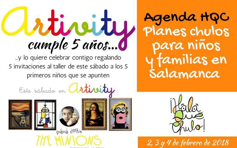 Agenda HQC | 2, 3 y 4 de febrero | Planes infantiles y familiares en Salamanca