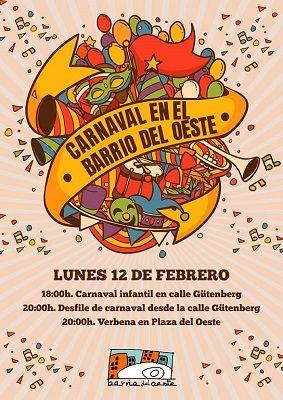 Carnaval para todos en el Barrio del Oeste de Salamanca