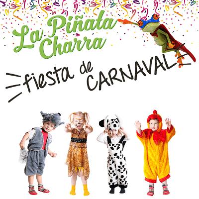 Gran Fiesta de Carnaval en la ludoteca La Piñata Charra de Salamanca