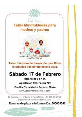 Taller de mindfulness para padres y madres en el Centro de Yoga y Meditación Om Tara