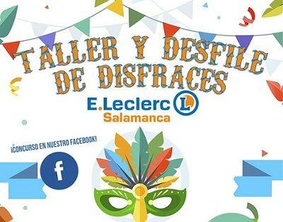 Taller y desfile de disfraces en E. Leclerc