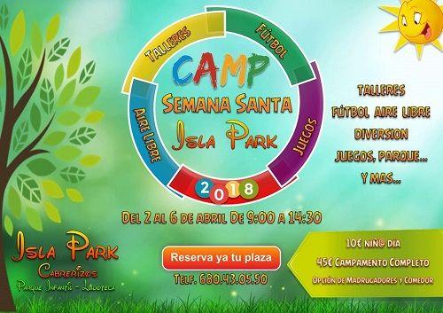 Campamento de Semana Santa en Isla Park