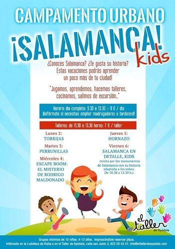 Campamento Urbano Salamanca Kids en Vialia