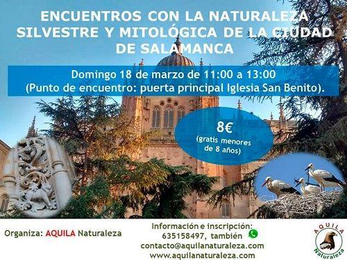 Encuentros con la naturaleza y la mitología en Salamanca con Aquila