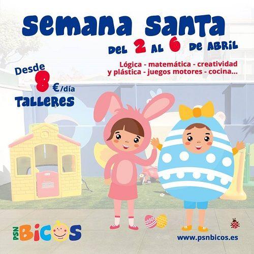 Talleres de Semana Santa 2018 en Bicos Salamanca