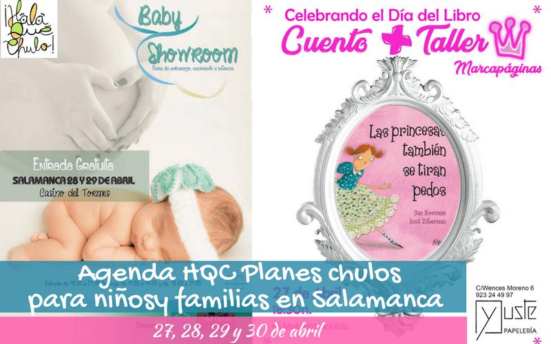AgendaHQC | Planes infantiles y familiares en Salamanca