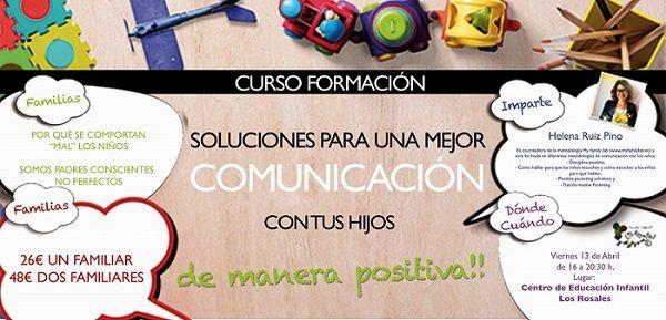 Curso sobre cómo mejorar la comunicación con los hijos en Los Rosales, Salamanca