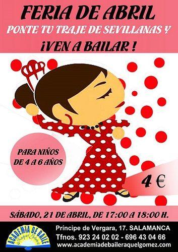 Feria de Abril en la Academia de Raquel Gómez en Salamanca