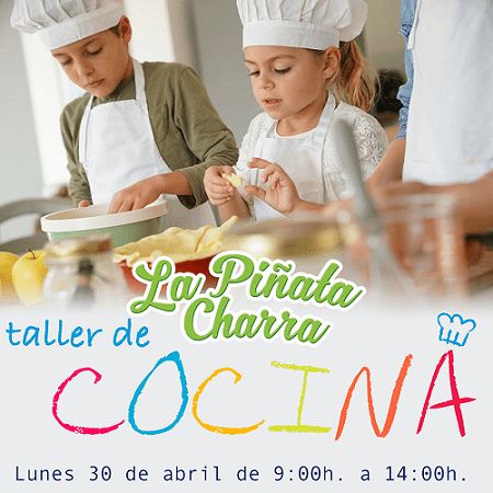 Taller de cocina en La Piñata Charra