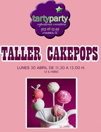 Taller infantil de cakepops en Tarty Party