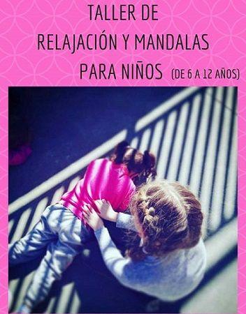 Talleres de relajación y mandalas para niños en Salamanca