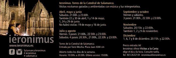 Ieronimus. Visitas guiadas a las Torres de la Catedral