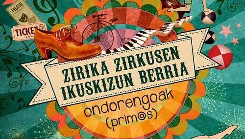 Primos de la compañía Zirika Zirkus en el Fàcyl