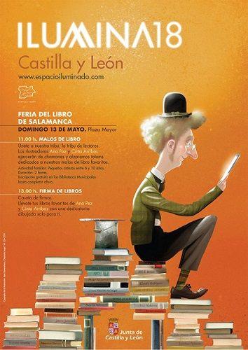 Talleres Ilumina18 en la Feria del Libro de Salamanca