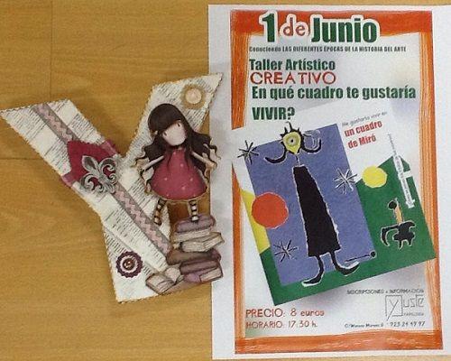 Taller creativo infantil en la librería Yuste