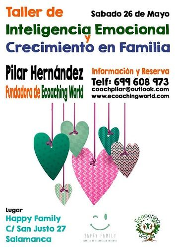 Taller de inteligencia emocional en Happy Family