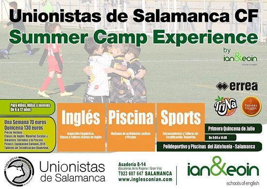 Summer Camp Experience de Unionistas y Ian & Eoin Schooll of English