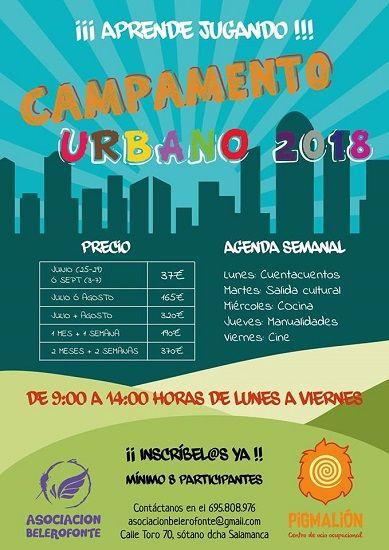 Campamento urbano en el Centro de Ocio Pigmalión