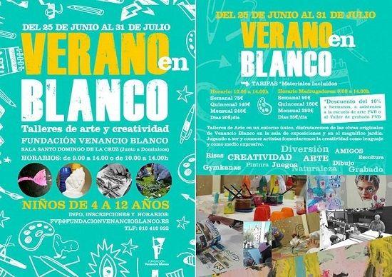Campamento urbano en la Fundación Venancio Blanco