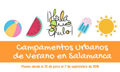 Campamentos de verano en Salamanca 2018