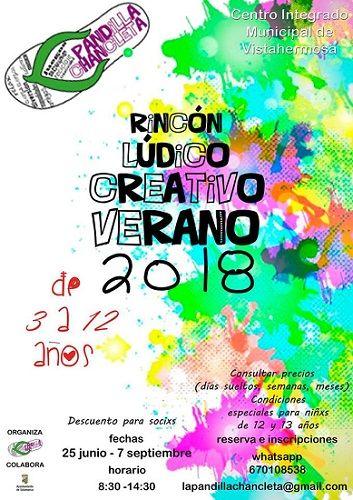 La Pandilla Chancleta y su rincón lúdico creativo de este verano en Salamanca