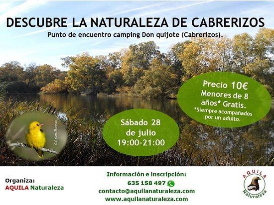 Paseo por la naturaleza en Cabrerizos