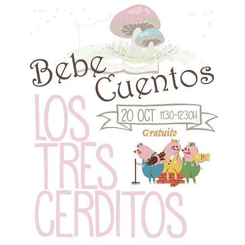 Bebcuentos en el Centro Infantil Colorines de Carbajosa