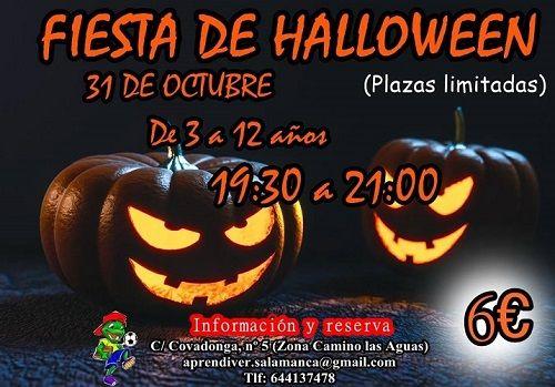 Fiesta de Halloween en Aprendiver