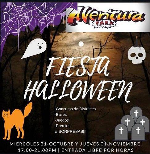 Halloween en Aventura Park