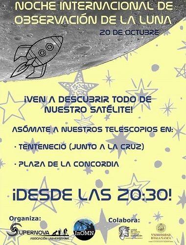 Noche Internacional de Observación de la Luna en Salamanca