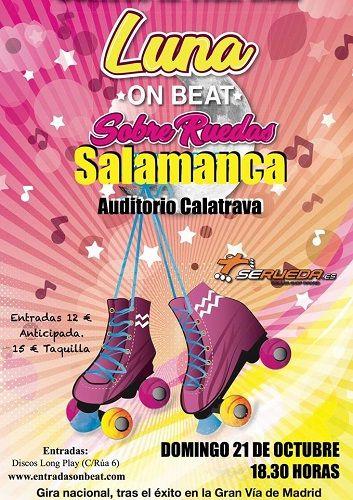 Luna on beat sobre ruedas en el Auditorio Calatrava de Salamanca