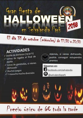 Fiesta de Halloween en Selvalandia Park