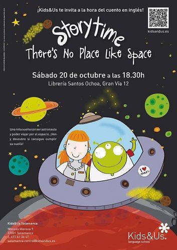 StoryTime con Kids&Us en la librería Santos Ochoa de Salamanca