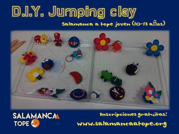 Taller de jumping clay en Satope Joven
