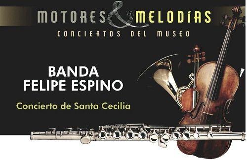 Concierto de Santa Cecilia en el Museo de Automoción