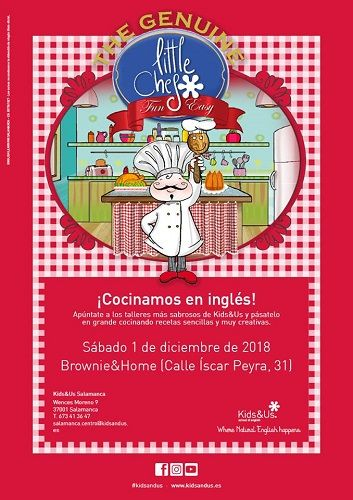 Little Chef con Kids & Us en Brownie & Home