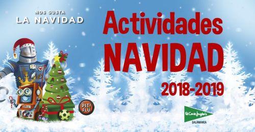 Actividades infantiles de Navidad en El Corte Inglés