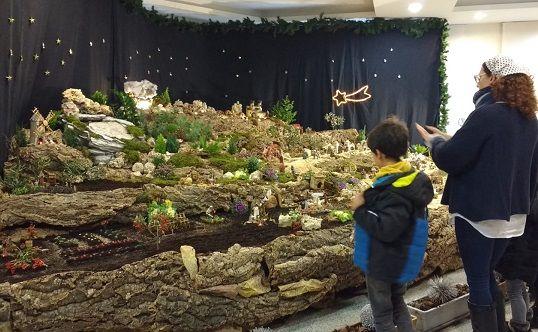 Exhibición Belén en Carbajosa