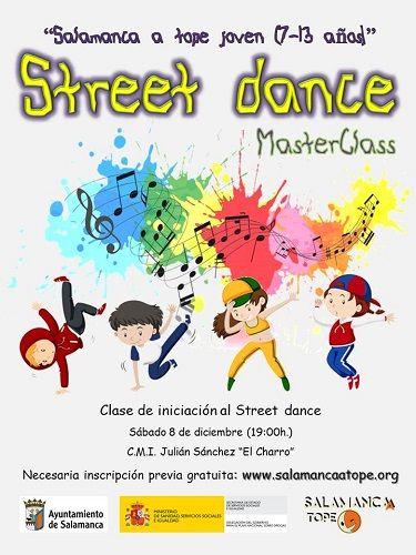 Street dance con Salamanca a tope