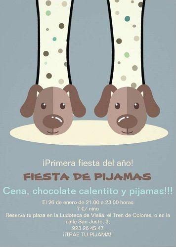Fiesta de pijamas en la ludoteca de Vialia