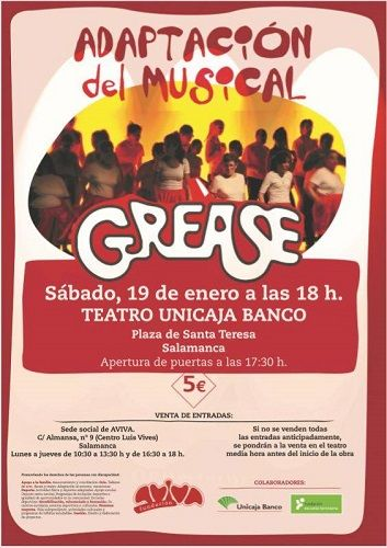 "Adaptación del musical ""Grease"" de AVIVA"