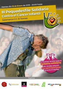 Pequedesfile contra el cáncer infantil