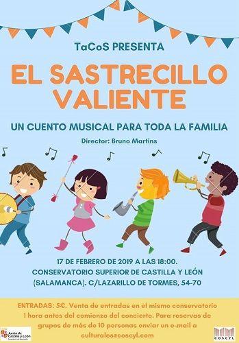 Cuento musical en el Conservatorio Superior de Música de Castilla y León