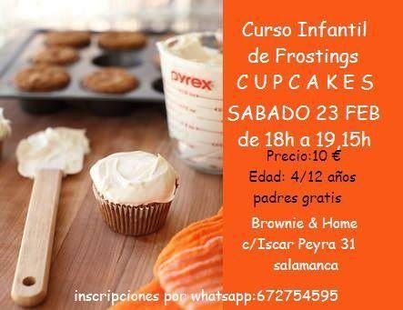 Curso infantil de frostings para cupcakes