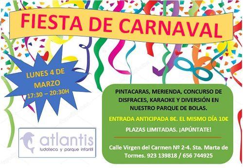 Fiesta de carnaval en Atlantis