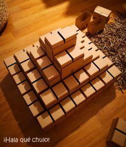 Pirámide desde arriba